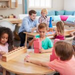 Montessori education encourages kid to drive their own learning experience. Learn about the fascinating history of Montessori education here.